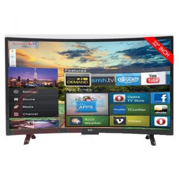 SG -C3200 32'' Inches Curved Smart HD LED Installment Deals